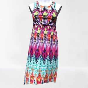 Squeeze Tank Top Multicolored Dress